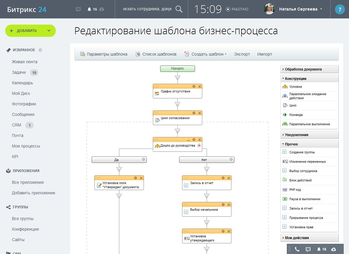 Создание бизнес процессов в битрикс 24 sku товары битрикс
